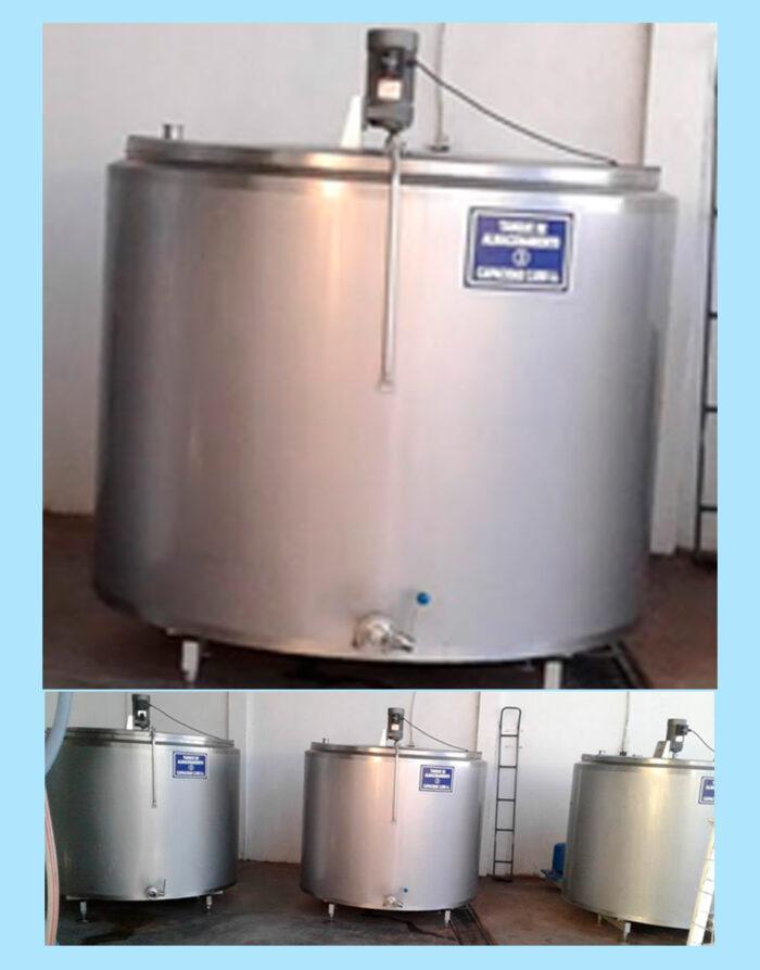 tanques enfriadores de leche